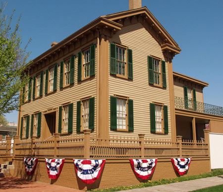 Abe Lincolin's Home in Springfield IL